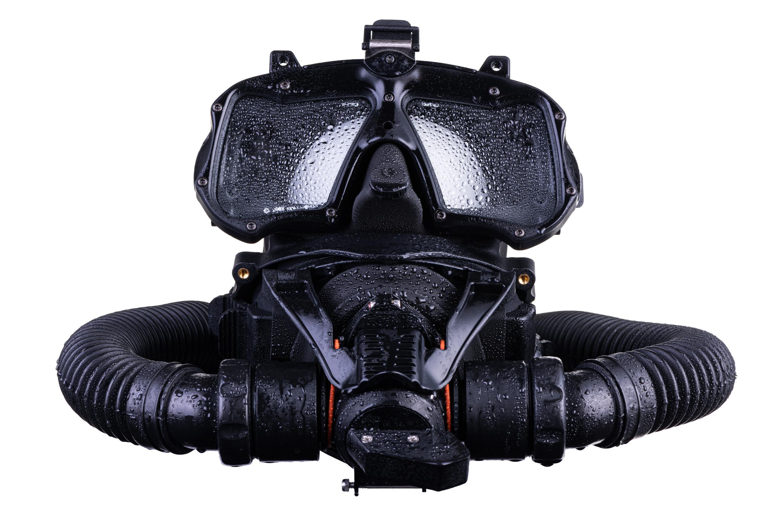 Productfotografie duikmasker Kirby Morgan